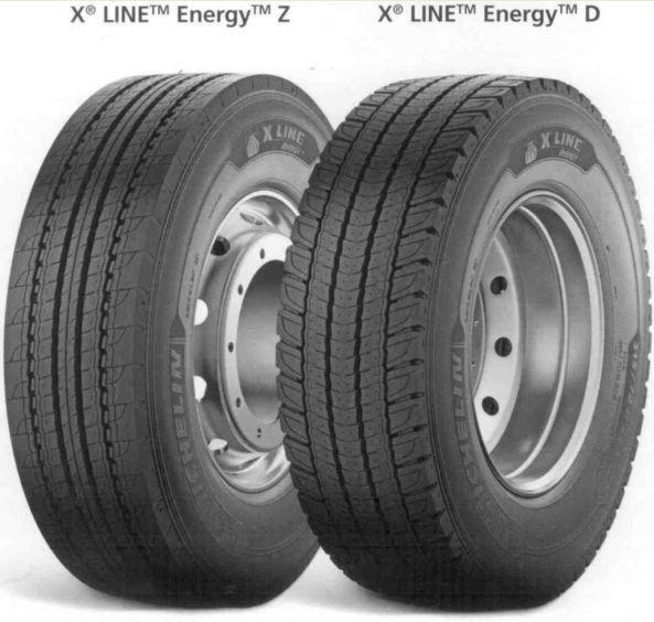 385/65R22,5 160K MICHELIN X LINE ENERGY F