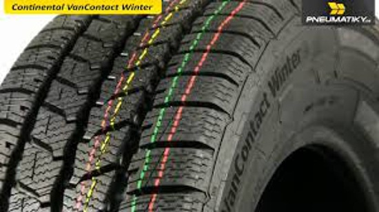 185/80R14C 102/100Q CONTINENTAL VanContact Winter