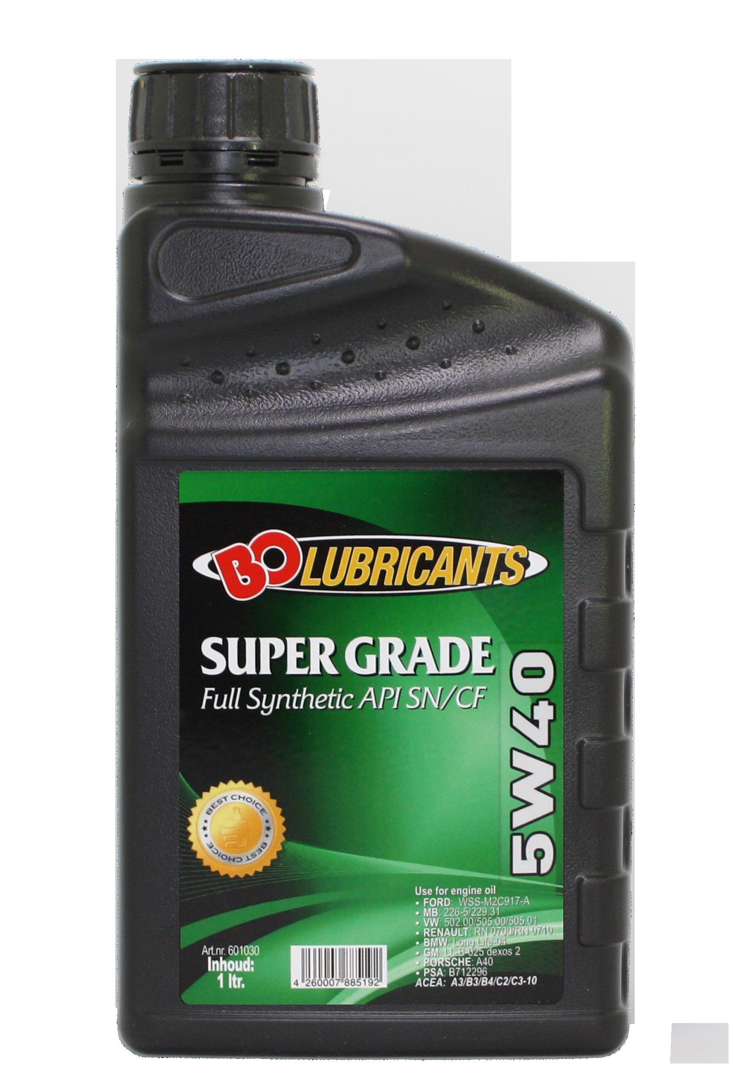 Super Grade 5w40 20l